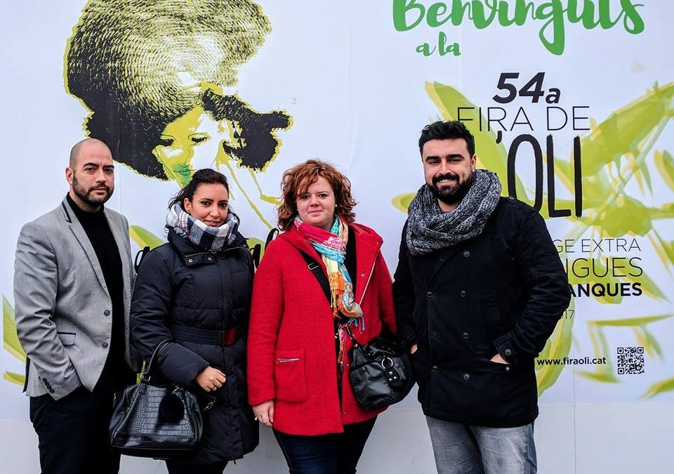 JCI Lleida a la Fira de l'Oli de Qualitat Verge Extra i les Garrigues e Fira de les Borges Blanques.