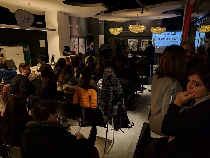JCI Lleida a la presentació del Pla Jove de Lleida